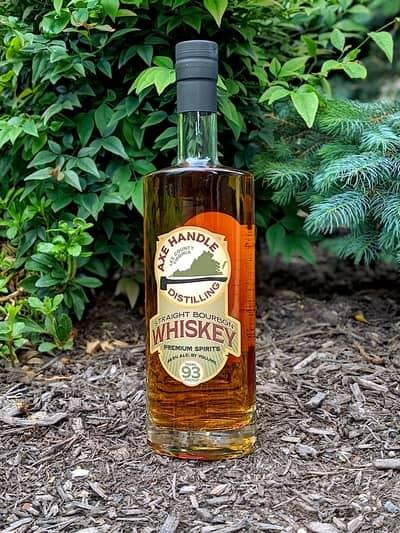 axe handle bourbon compressed